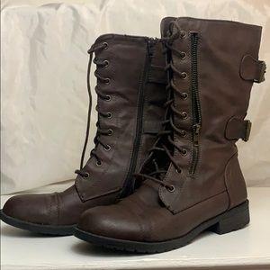 Pazzle combat boots brown